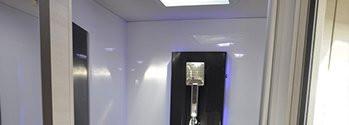 Nasze łazienki projektowane są w praktycznym i dobrym stylu