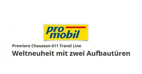 Chausson 611 Travel Line w ProMobil.de