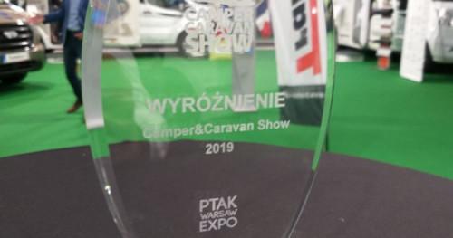 Kampery Chausson nagrodzone na targach Camper Caravan Show 2019!
